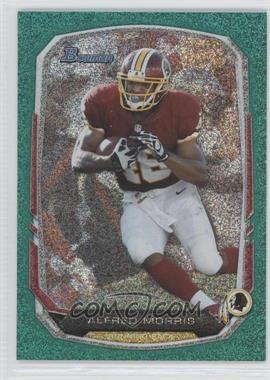 2013 Bowman Green Ice #99 - Alfred Morris /50
