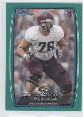 2013 Bowman Green #125 - Luke Joeckel /99