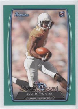 2013 Bowman Green #196 - Justin Hunter /99