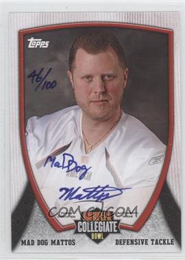 2013 Bowman NFLPA Collegiate Bowl Autographs #102 - [Missing]