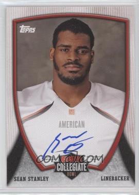 2013 Bowman NFLPA Collegiate Bowl Autographs #11 - Sean Stanley
