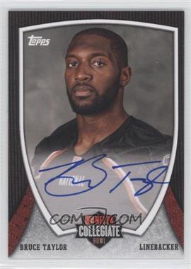 2013 Bowman NFLPA Collegiate Bowl Autographs #19 - Bruce Taylor