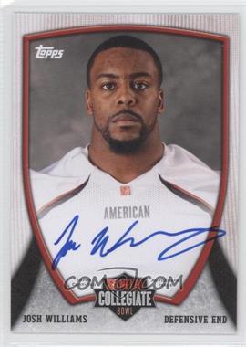 2013 Bowman NFLPA Collegiate Bowl Autographs #91 - Josh Williams