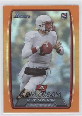 2013 Bowman Orange Rainbow Foil #128 - Mike Glennon /299