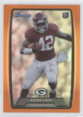 2013 Bowman Orange Rainbow Foil #140 - Eddie Lacy /299