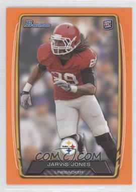 2013 Bowman Orange #120 - Jarvis Jones /299