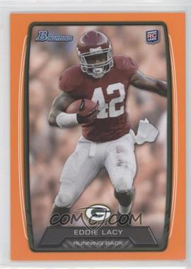 2013 Bowman Orange #140 - Eddie Lacy /299