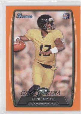 2013 Bowman Orange #150 - Geno Smith /299
