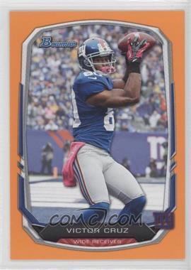 2013 Bowman Orange #16 - Victor Cruz /50