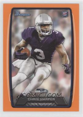 2013 Bowman Orange #198 - Chris Harper /299