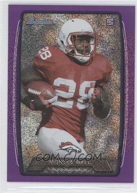 2013 Bowman Purple Ice #135 - Montee Ball /10