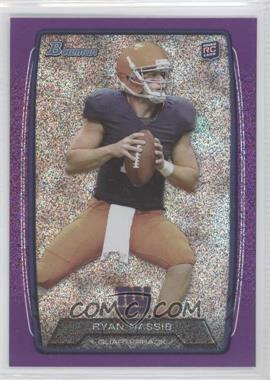 2013 Bowman Purple Ice #165 - Ryan Nassib /10