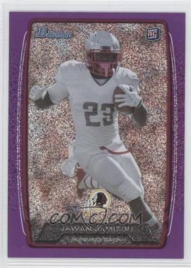 2013 Bowman Purple Ice #216 - Jawan Jamison /10