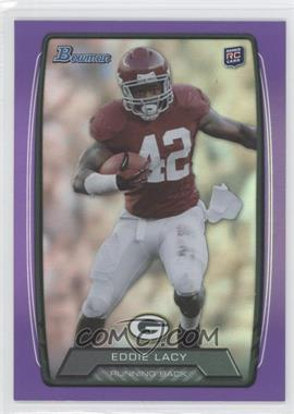 2013 Bowman Purple Rainbow Foil #140 - Eddie Lacy