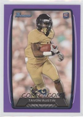 2013 Bowman Purple #130 - Tavon Austin