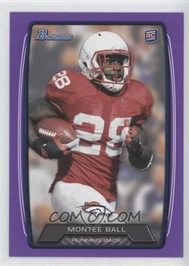 2013 Bowman Purple #135 - Montee Ball