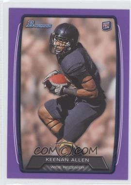 2013 Bowman Purple #175 - Keenan Allen