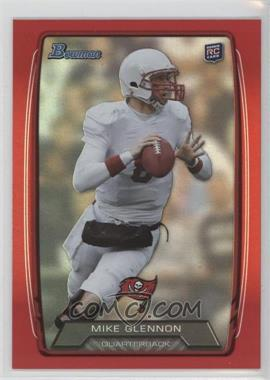 2013 Bowman Red Rainbow Foil #128 - Mike Glennon /199