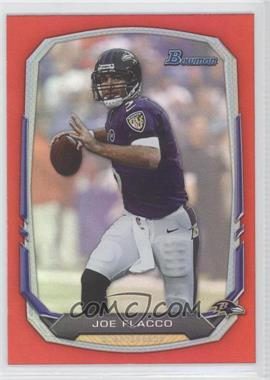 2013 Bowman Red Rainbow Foil #68 - Joe Flacco /25