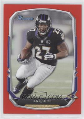 2013 Bowman Red #30 - Ray Rice /25