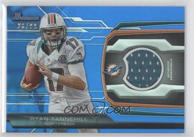 2013 Bowman Relic Blue #BR-RT - Ryan Tannehill /99