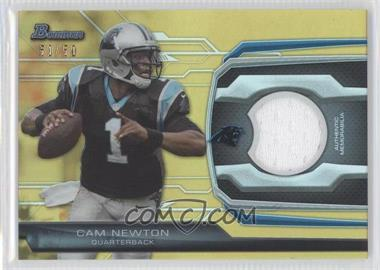 2013 Bowman Relic Gold #BR-CN - Cam Newton /50