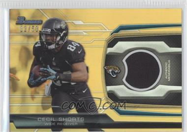 2013 Bowman Relic Gold #BR-CS - Cecil Shorts /50