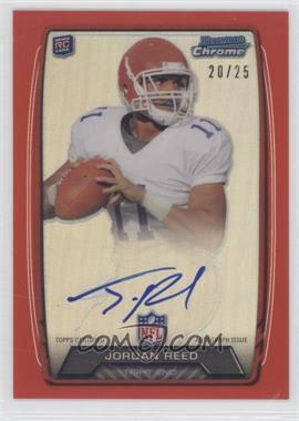 2013 Bowman Rookie Chrome Refractor Autograph Red [Autographed] #RCRA-N/A - Jordan Reed /25