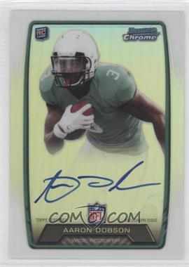 2013 Bowman Rookie Chrome Refractor Autograph #RCRA-AD - Aaron Dobson