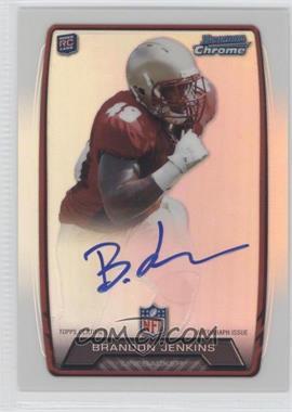 2013 Bowman Rookie Chrome Refractor Autograph #RCRA-BJ - Brandon Jenkins