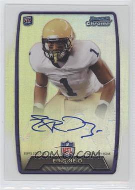 2013 Bowman Rookie Chrome Refractor Autograph #RCRA-ERE - Eric Reid
