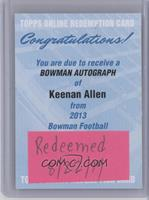 Keenan Allen [REDEMPTION Being Redeemed]