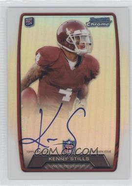 2013 Bowman Rookie Chrome Refractor Autograph #RCRA-KS - Kenny Stills