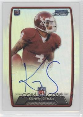 2013 Bowman Rookie Chrome Refractor Autograph #RCRA-KS - Kenny Stills
