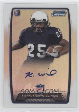 2013 Bowman Rookie Chrome Refractor Autograph #RCRA-KW - Kerwynn Williams