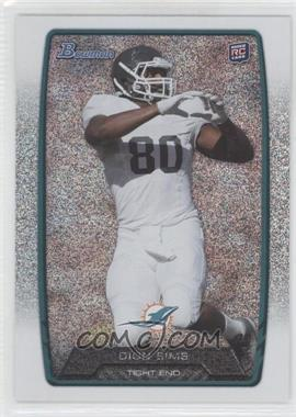 2013 Bowman Silver Ice #111 - Dion Sims