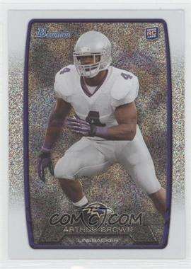 2013 Bowman Silver Ice #136 - Arthur Brown
