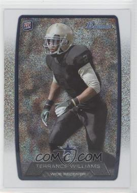2013 Bowman Silver Ice #166 - Terrance Williams
