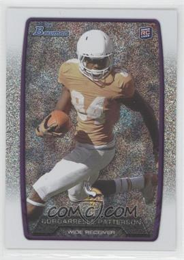 2013 Bowman Silver Ice #171 - Cordarrelle Patterson