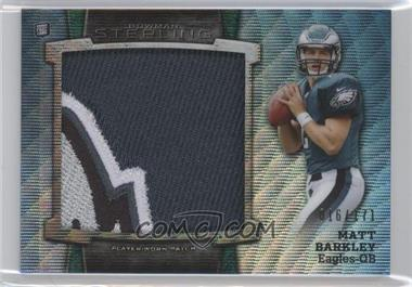 2013 Bowman Sterling Box Topper Jumbo Rookie Patch #BSJRP-MB - Matt Barkley /171