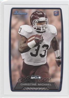 2013 Bowman #138 - Christine Michael