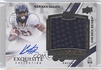 Rookie Signature Patch Tier 2 - Keenan Allen /125
