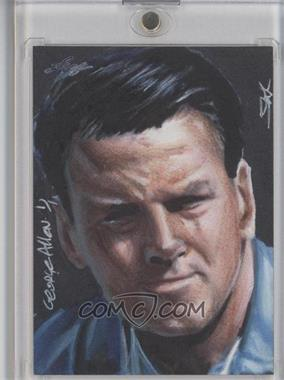 2013 Leaf Best of Football Sketch Cards #GAJK - George Allen (Jim Kyle) /1