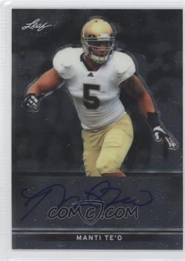 2013 Leaf Metal Draft #BA-1 - Manti Te'o