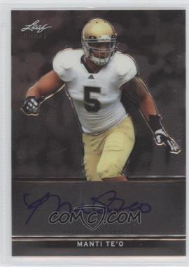 2013 Leaf Metal Draft #BA-MT1 - Manti Te'o