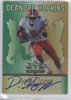 2013 Leaf Valiant #BA-DAH - DeAndre Hopkins