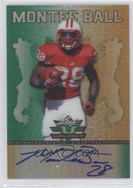 2013 Leaf Valiant #BA-MB2 - Montee Ball