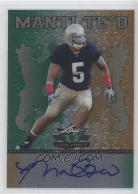 2013 Leaf Valiant #BA-MT1 - Manti Te'o