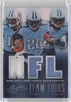 Chris Johnson, Kenny Britt, Nate Washington /99