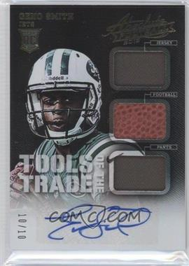 2013 Panini Absolute Tools of the Trade Rookies Signatures [Autographed] #11 - Geno Smith /10